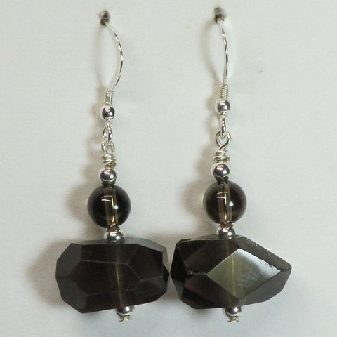Smoky Quartz Earring Jewelry