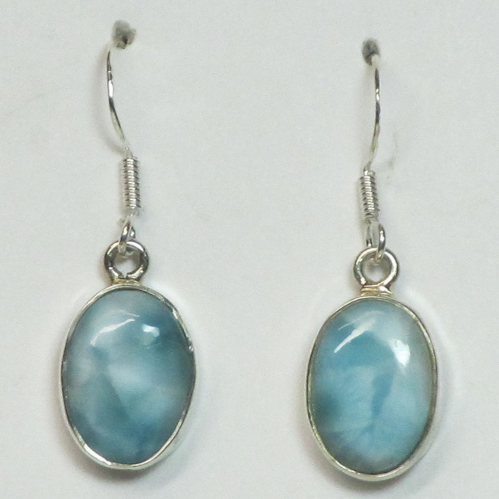 Larimar Sterling Silver Earrings Jewelry