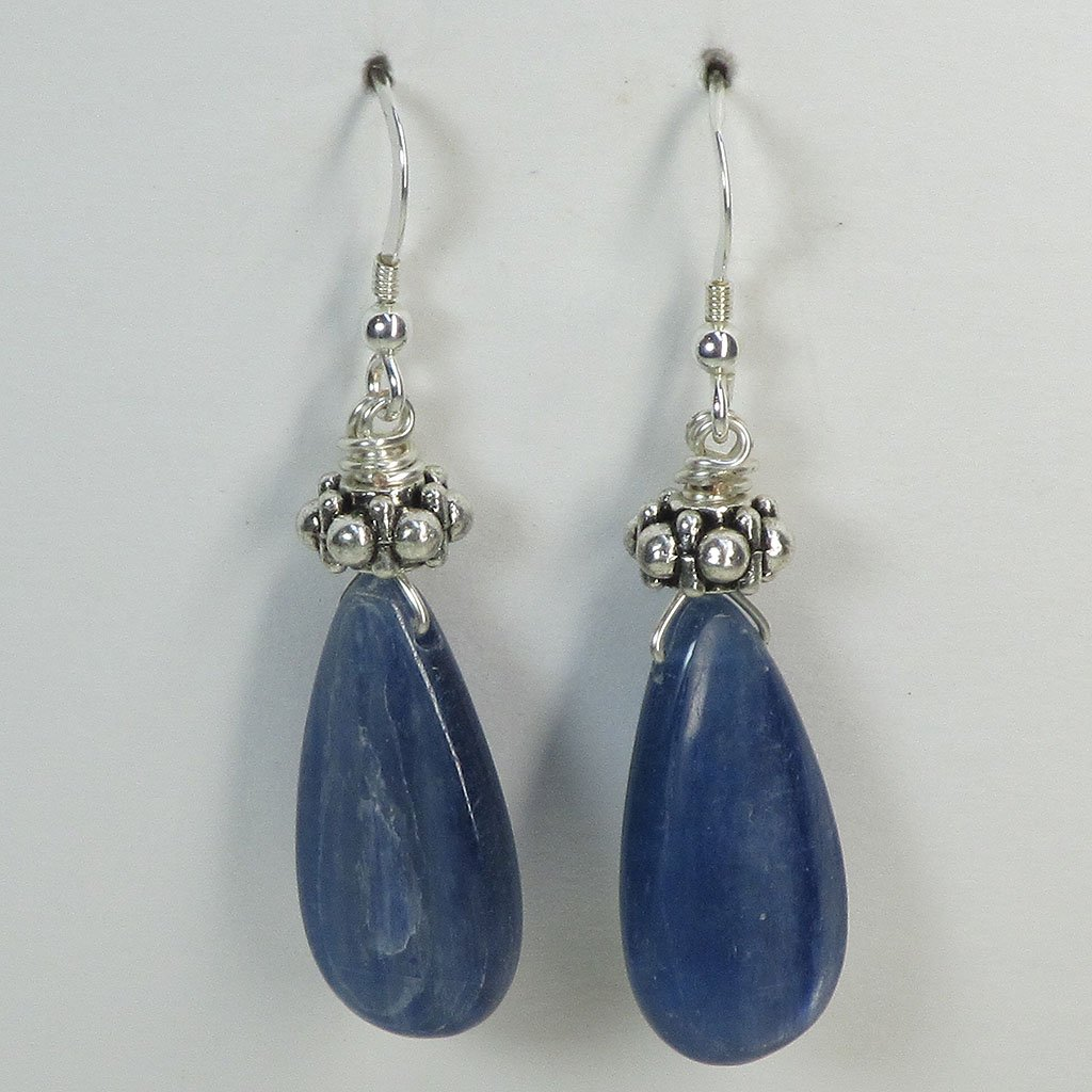 Kyanite Earrings | Blue Moon Crystals & Jewelry