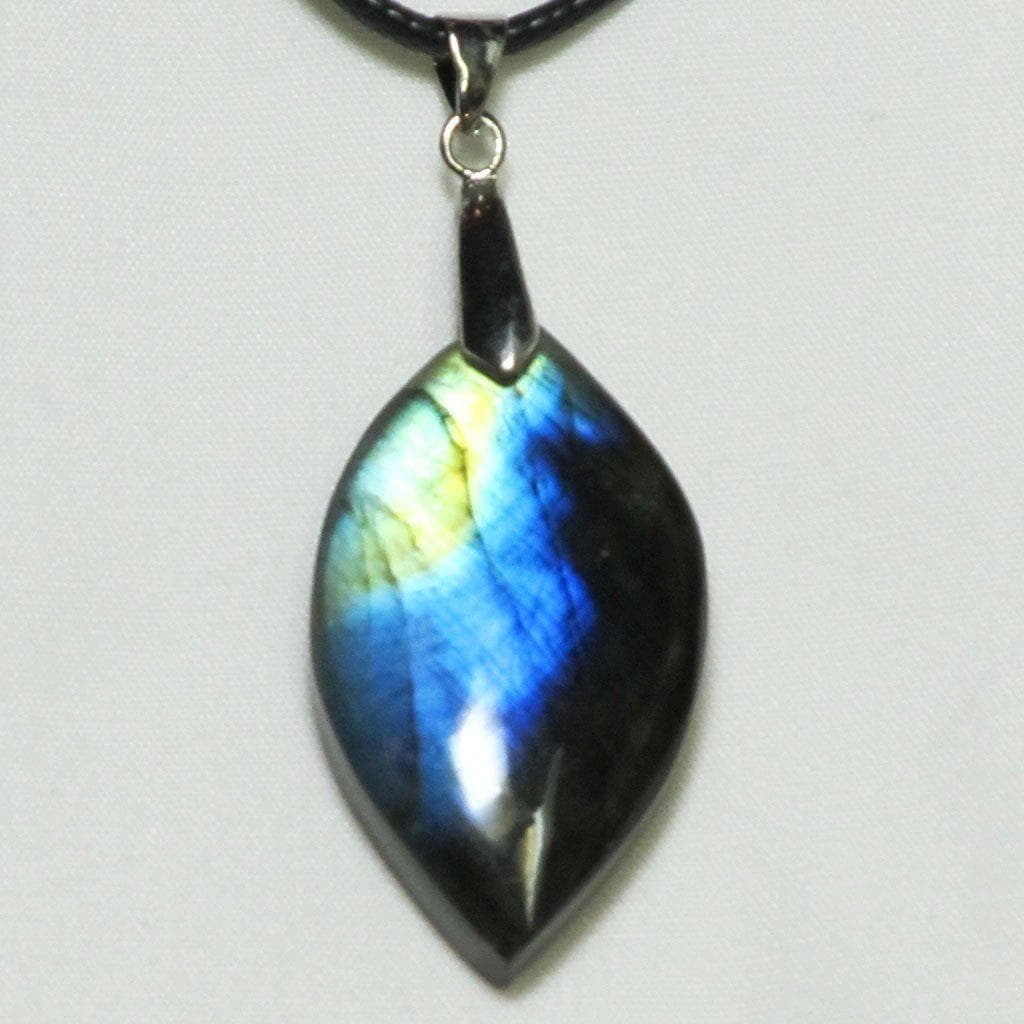 Polished Labradorite Pendant | Blue Moon Crystals & Jewelry