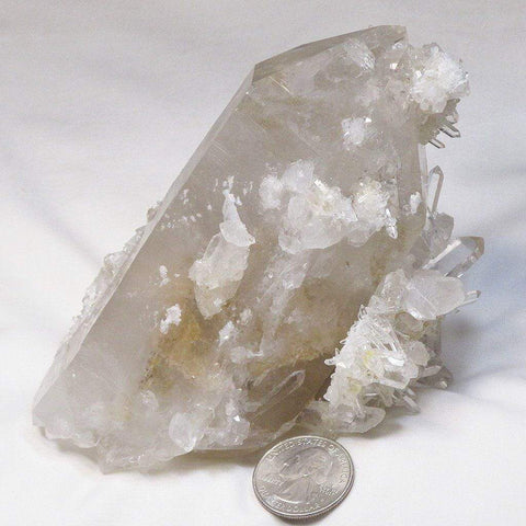 Arkansas Sand Phantom Quartz Crystal DT/ET Manifestation Point
