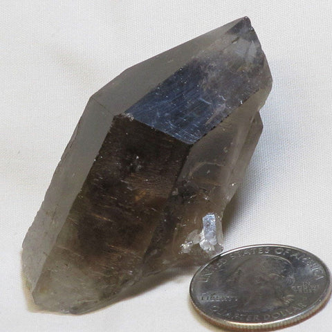 Smoky Quartz Crystal Point from Brazil