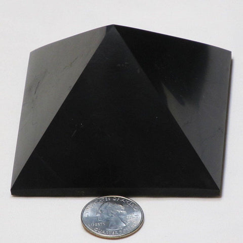 Type 2 Shungite Pyramid from Russia (Shipped from USA)