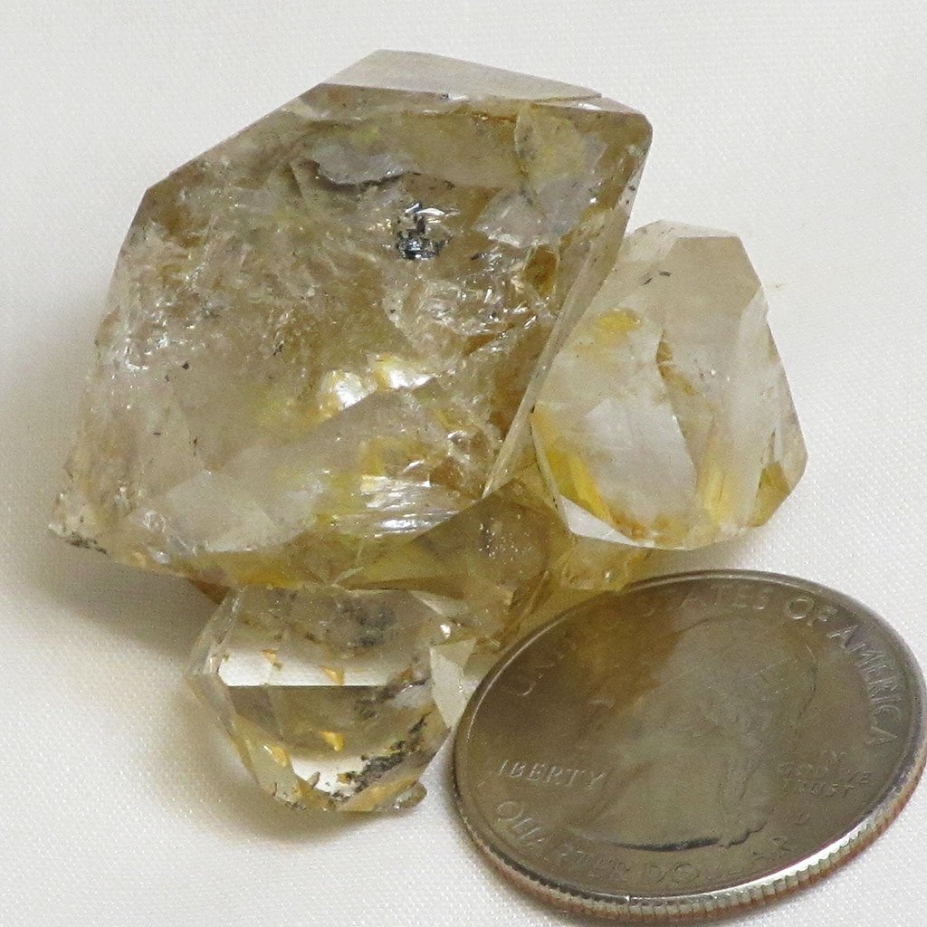 Herkimer Diamond Quartz Crystal Cluster from Herkimer County New York