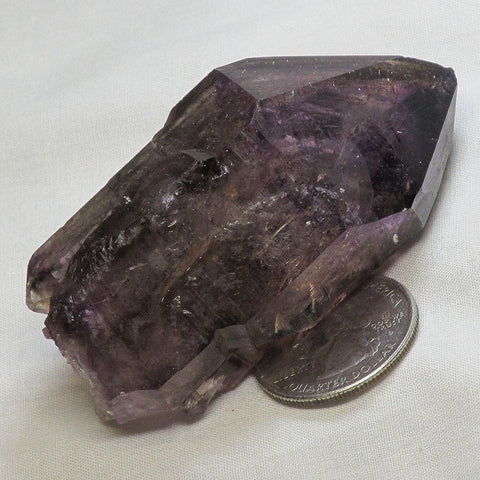 Shangaan Amethyst Sceptre Head Skeletal Point from Zimbabwe