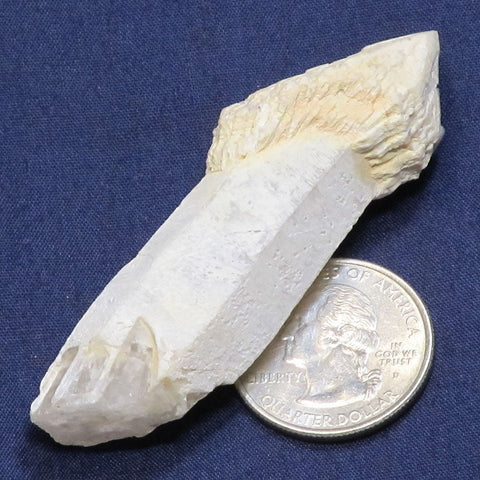 Sceptre Quartz Crystal Point from Brazil
