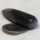Polished Natural Purple Corundum Sapphire from Sri Lanka