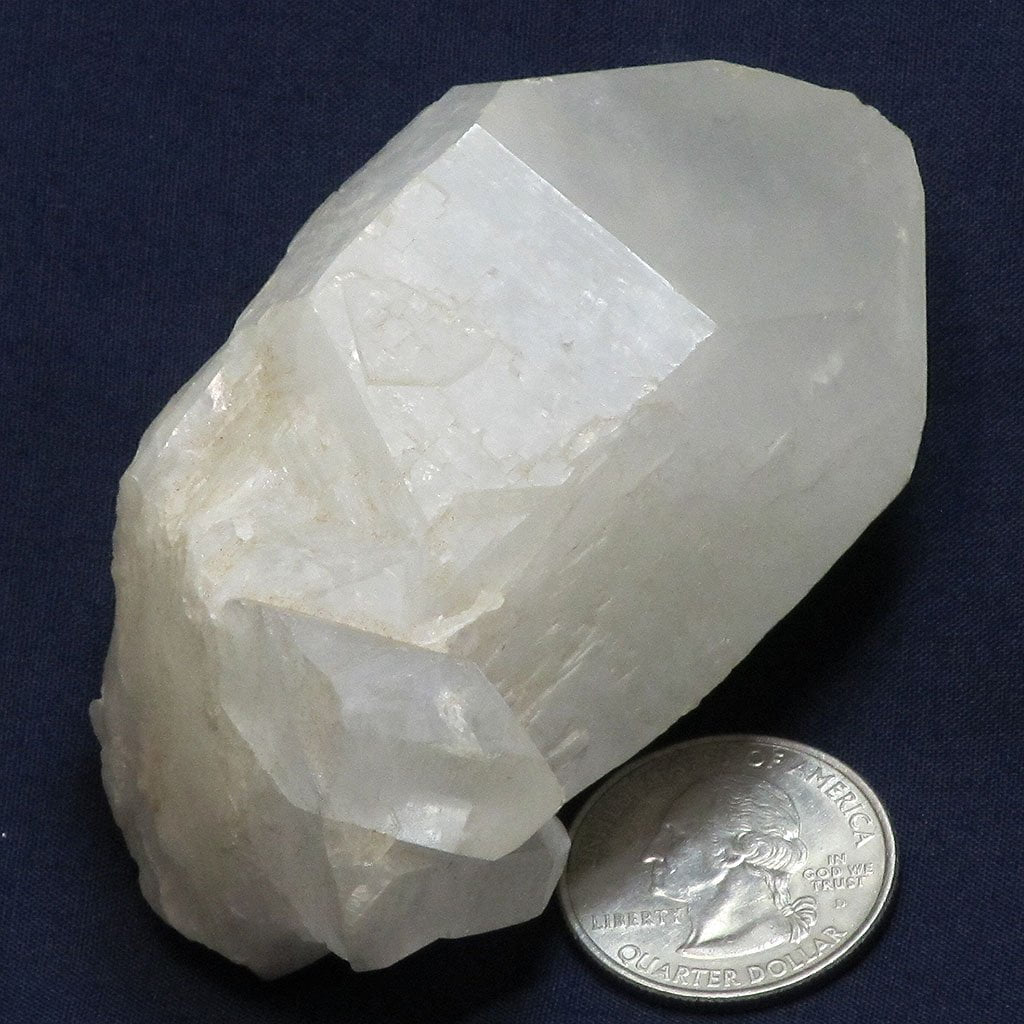 Candle Quartz Crystal Point from Madagascar