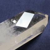 Clear Quartz Crystal Point with Time-Link Activation from Brazil