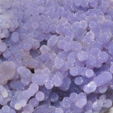 Grape Agate or Purple Chalcedony Cluster from Indonesia