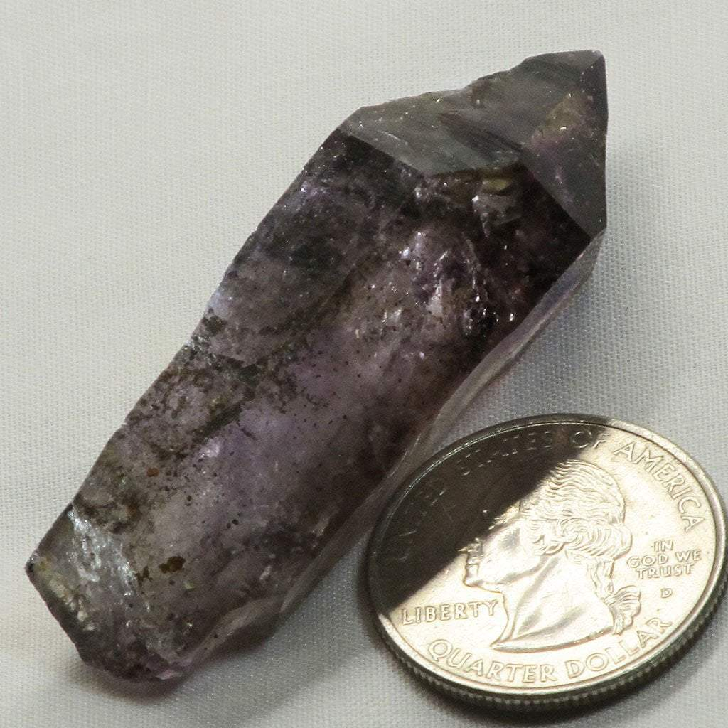 Shangaan Amethyst Sceptre Head with Phantoms from Zimbabwe