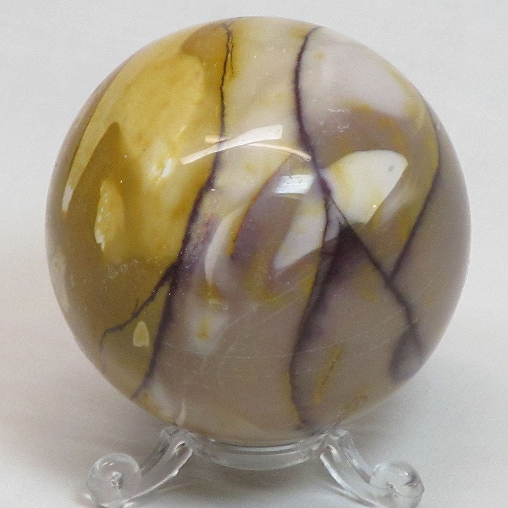 Polished Mookaite Jasper Sphere Ball from Australia