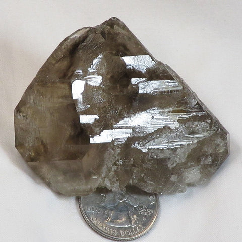 Smoky Quartz Crystal Elestial