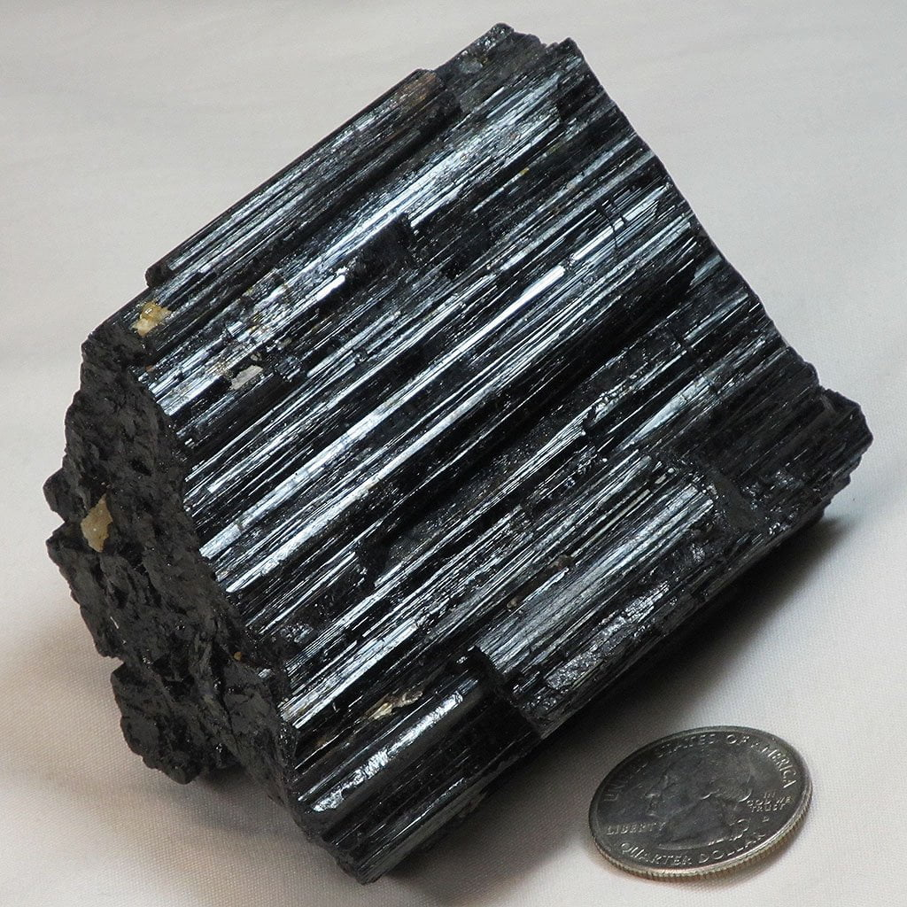Black Tourmaline Crystal from Brazil