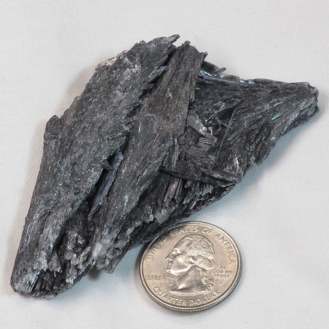 Black Kyanite Fan from Brazil