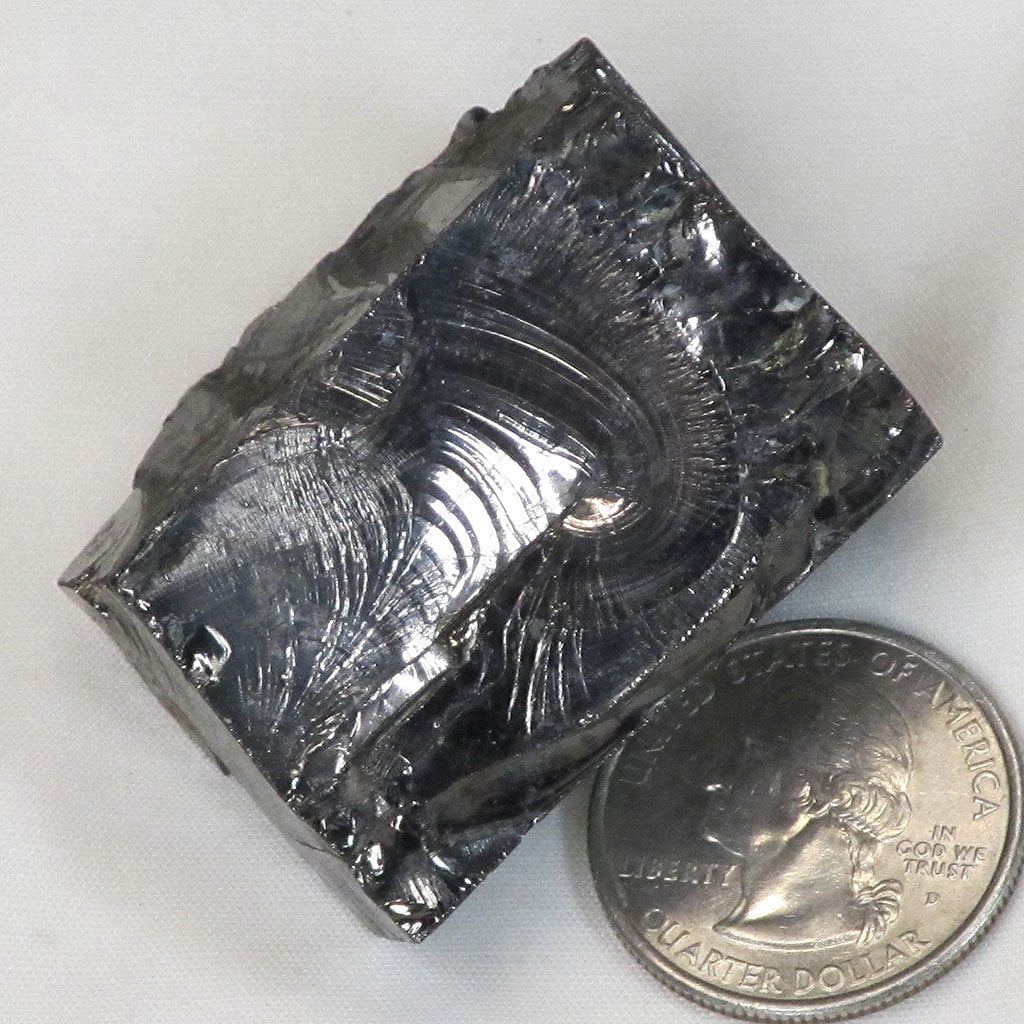 Larger Elite Silver or Noble Shungite from Russia