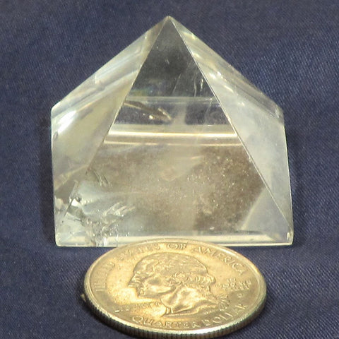Polished Quartz Crystal Pyramid