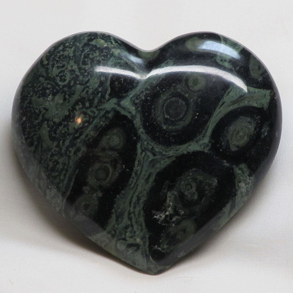 Polished Kambaba Jasper Heart