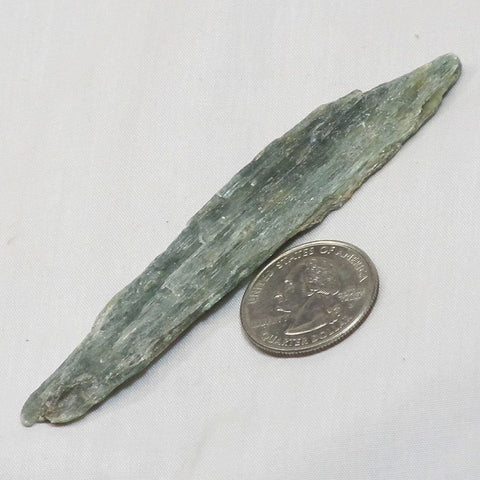 Rare Green Kyanite Blade from Tanzania