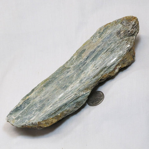 Large Rare Green Kyanite Blade from Tanzania
