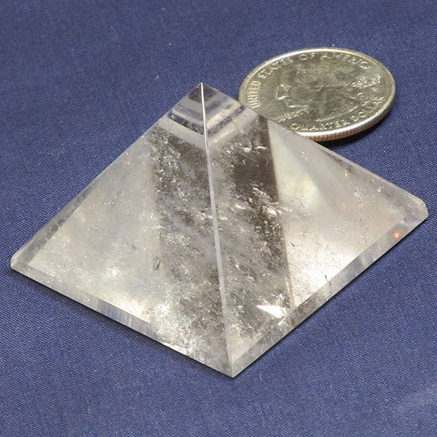 Polished Clear Quartz Pyramid