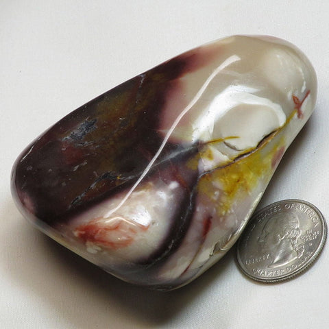 Polished Mookaite Jasper from Australia