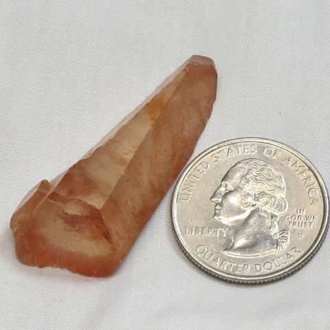 Red Dragon Quartz Crystal Point from Morocco