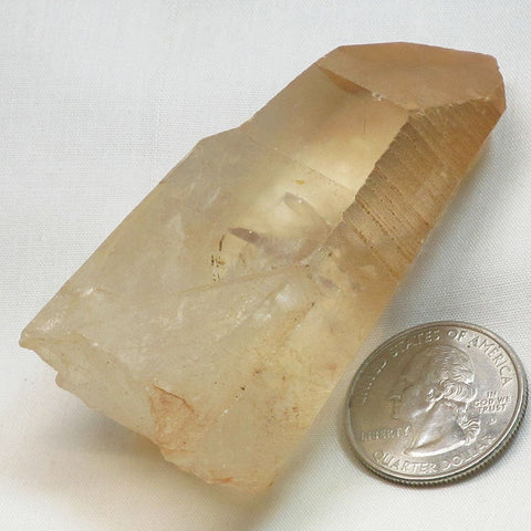 Tangerine Quartz Crystal Point