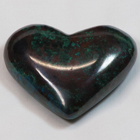 Polished Chrysocolla Heart