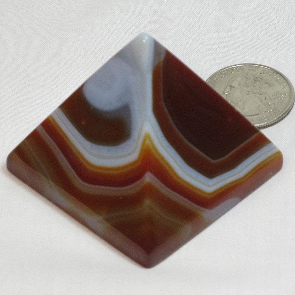 Polished Carnelian Pyramid