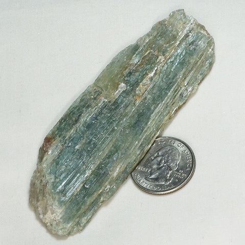 Rare Green Kyanite Blade from Tanzania | Blue Moon Crystals