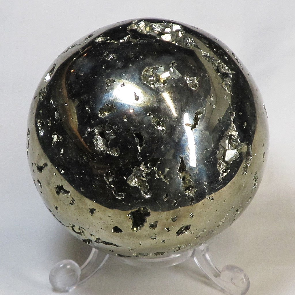 Polished Pyrite Sphere | Blue Moon Crystals & Jewelry