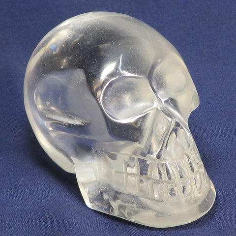 Carved Clear Quartz Skull | Blue Moon Crystals & Jewelry