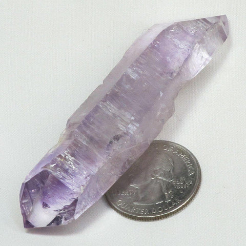Vera Cruz Amethyst Double Terminated Point with Phantoms