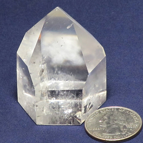 Polished Clear Quartz Crystal Point | Blue Moon Crystals