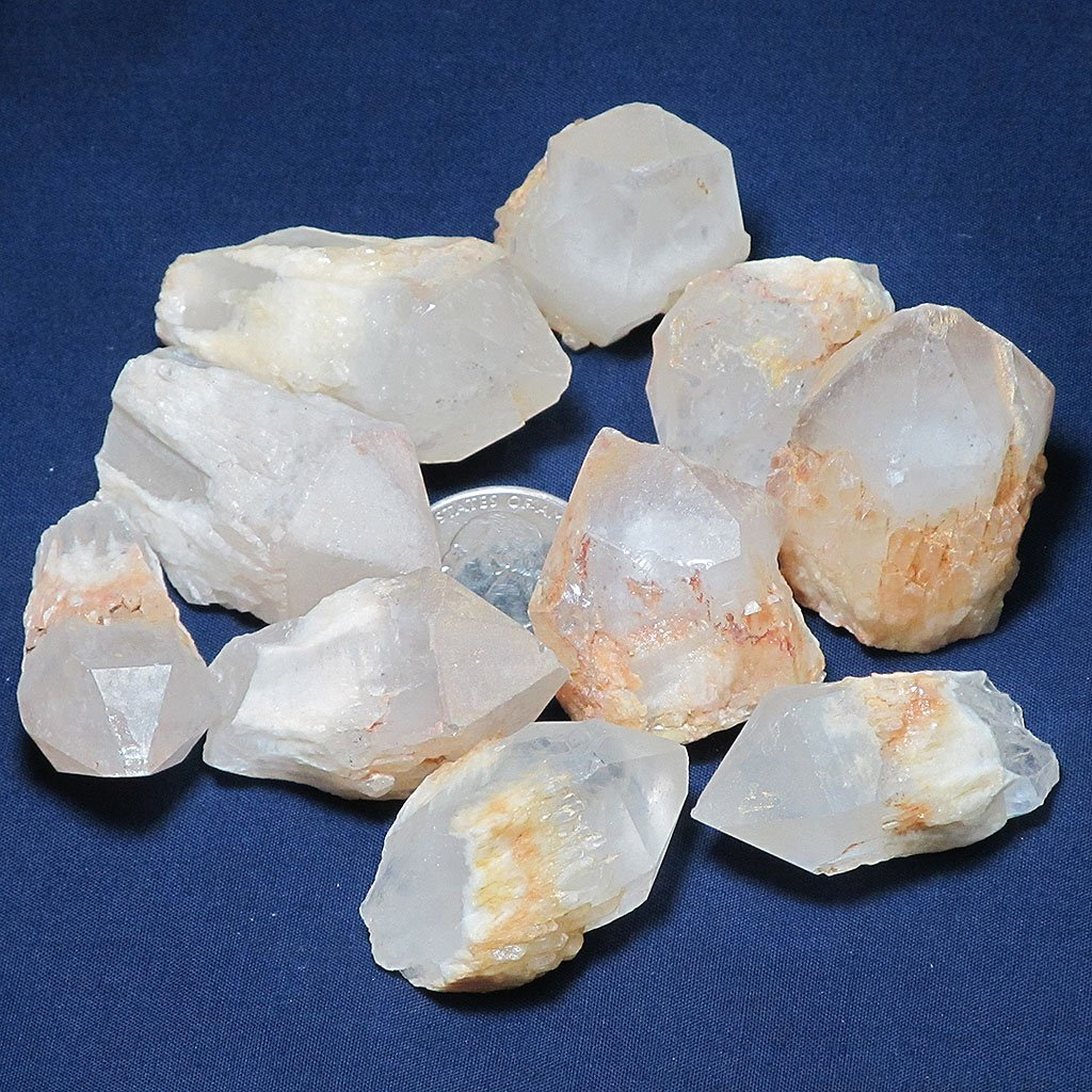 10 Candle Quartz Crystal Points | Blue Moon Crystals & Jewelry
