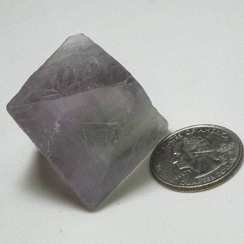 Green & Purple Fluorite Octahedron | Blue Moon Crystals