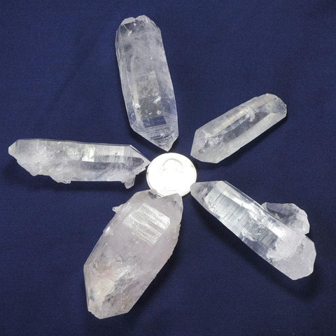 5 B Grade Arkansas Quartz Crystal Double Terminated/ET Points