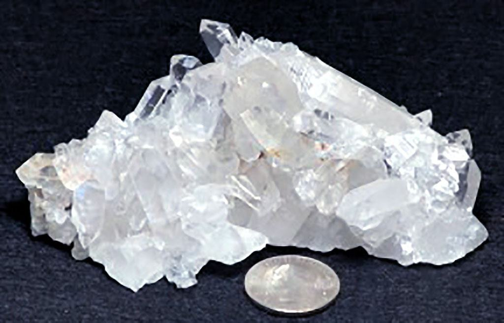 Arkansas Quartz Crystal Cluster