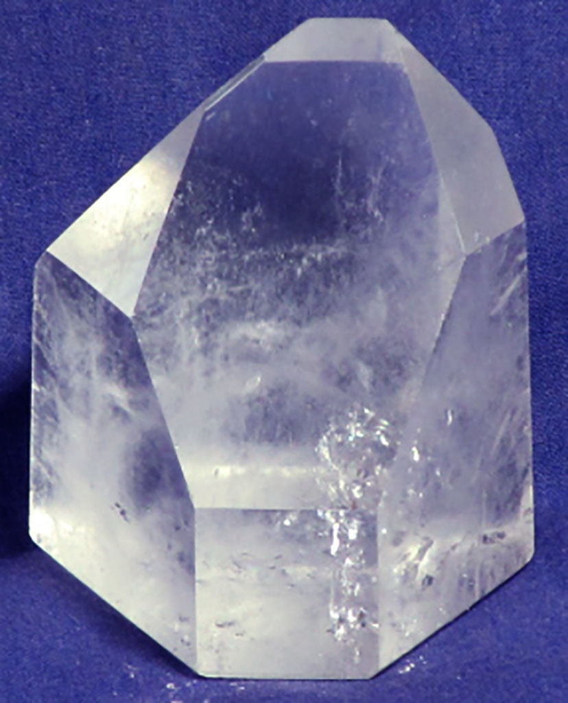 Polished Quartz Crystal Point