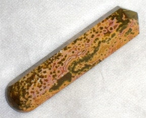 Polished Ocean Jasper Massage Wand