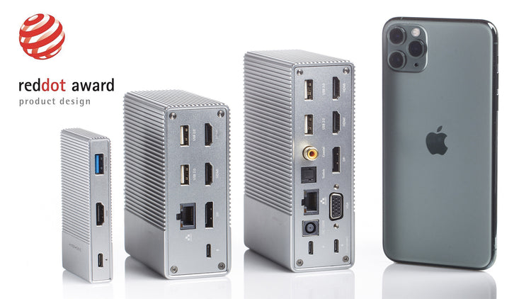 HyperDrive™ GEN2 6-Port, 12-Port, 18-Port: Next Generation USB-C Hub with 2X Speed/Power of Current USB-C Hubs