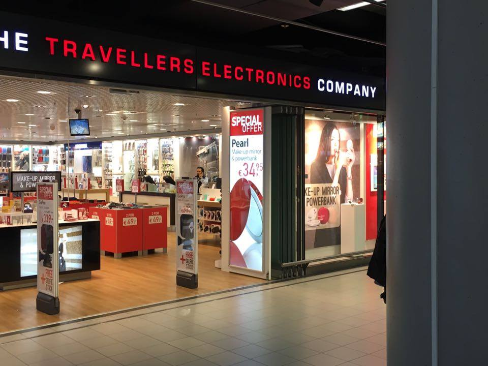 Pearl at Europe Airport Duty Free Stores