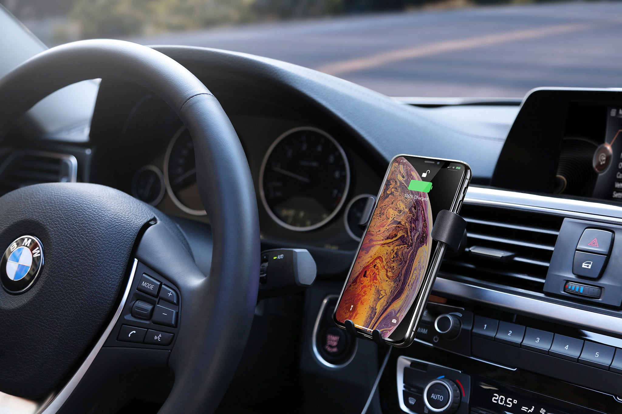 HyperJuice Wireless Car Charger