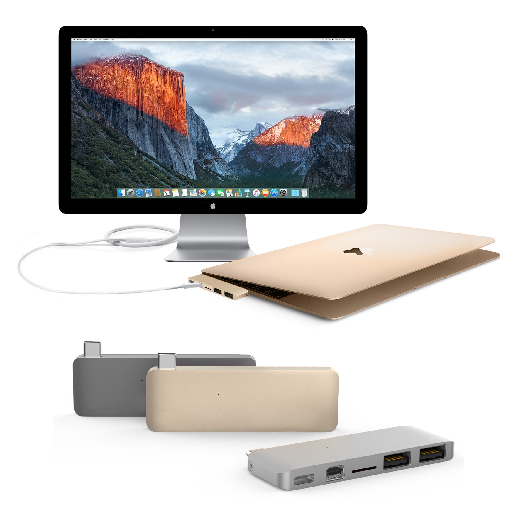 HyperDrive USB Type-C Hub with Mini DisplayPort