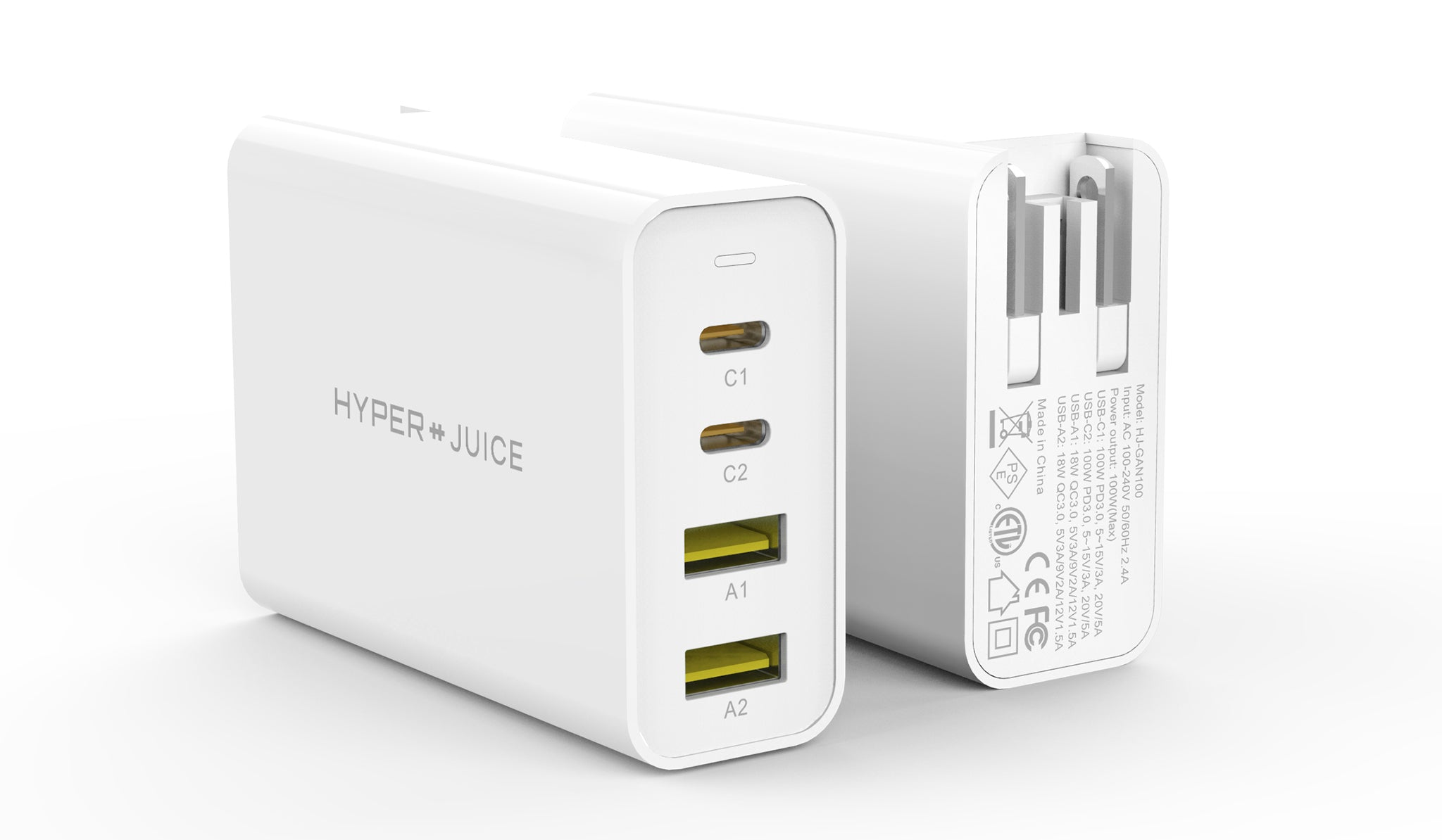HyperJuice: World's First (and Smallest) 100W GaN Charger