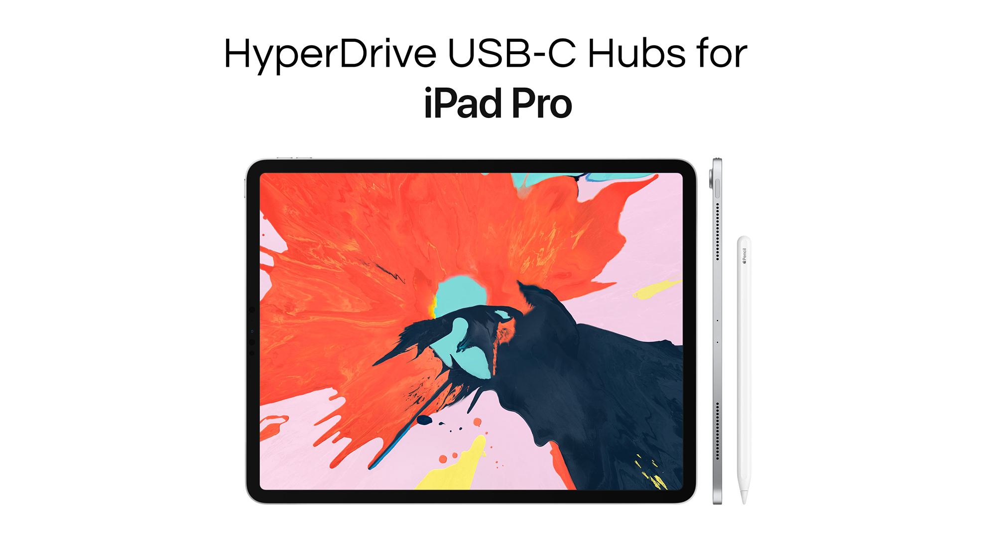 HyperDrive USB-C Hubs for New 2018 iPad Pro