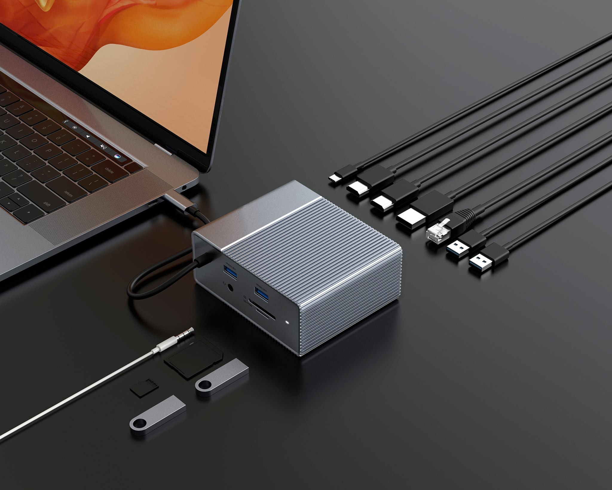 HyperDrive GEN2 12-in-1 USB-C Hub