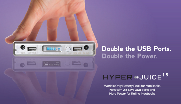 HyperJuice 1.5 and HyperJuice 2