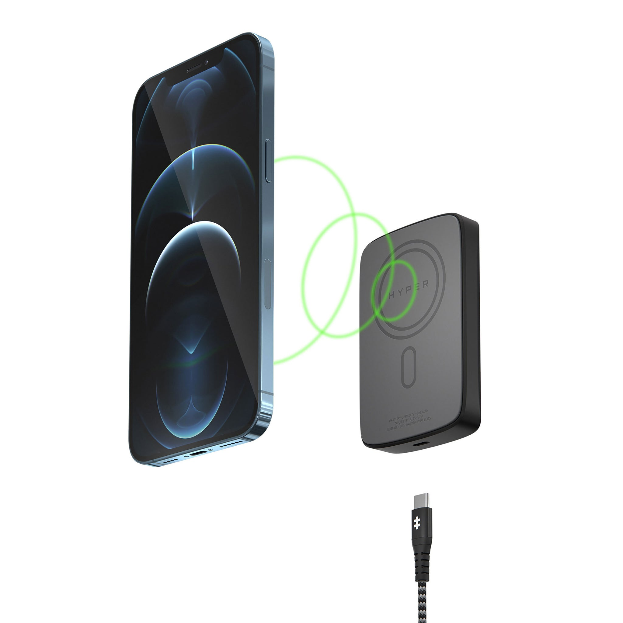 HyperJuice® Magnetic Wireless Battery Pack for iPhone 12